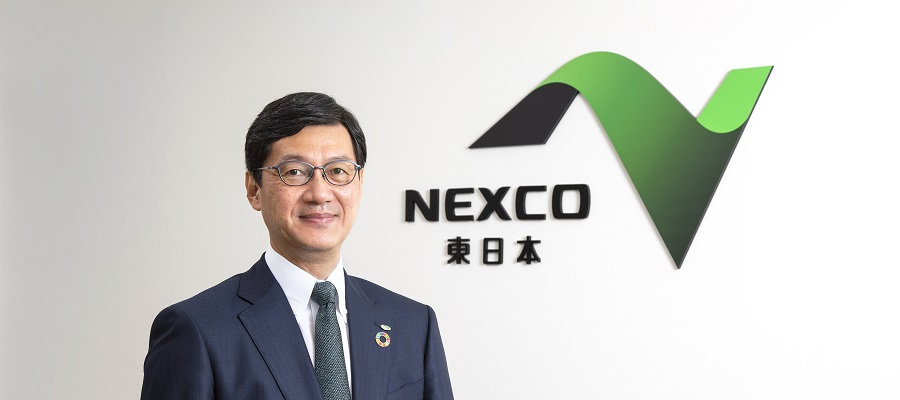 Photo of Toru Obata, President and Chief Executive Officer NEXCO EAST