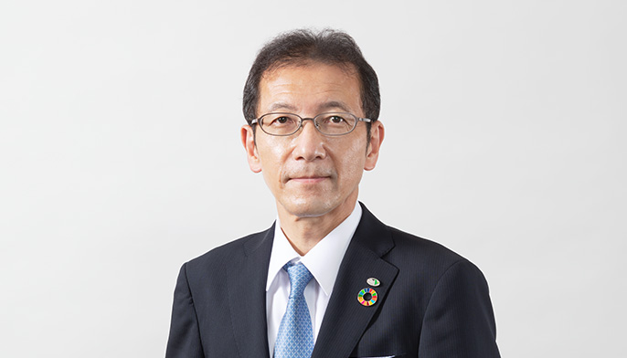 Photograph of Yasushi Kobayashi, Director and Managing Executive Officer, General Manager of Corporate Planning Division